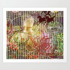 The Relative Frequency of the Causes of Breakage of Plate Glass Windows (2) Art Print