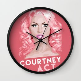 Courtney Act, RuPaul's Drag Race Queen Wall Clock