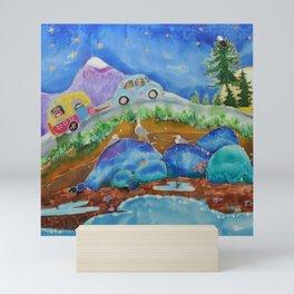 Island Roads Mini Art Print