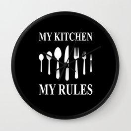 Kitchen Kitchen Accessories Kitchen Gifts Cooking Wall Clock