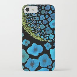 Paths of Color [Turquoise, Blue and Green] iPhone Case