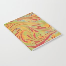 Marbled Pattern IV Notebook