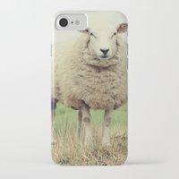 sheep iPhone & iPod Cases featuring Sheep by Falko Follert Art-FF77