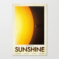 sunshine Canvas Prints featuring Sunshine by Victor Vercesi