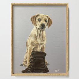 Rosie The Labrador Serving Tray