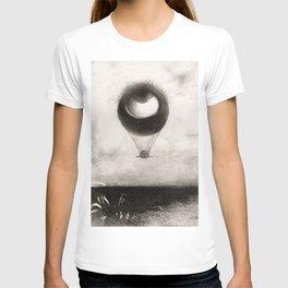 Olion Redon Eye Balloon Illustration T-shirt