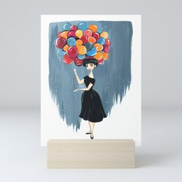 Funny Face Mini Art Print