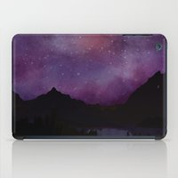 night sky iPad Cases featuring Night Sky by Ale Ibanez
