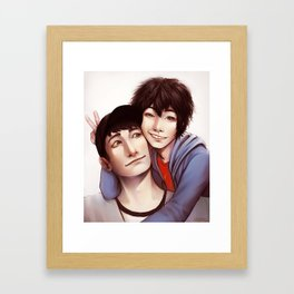 Tadashi is Here Framed Art Print