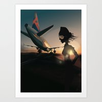 Your Journey Starts Here... Art Print