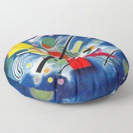 Wassily Kandinsky - Blue Painting - Abstract Art Floor Pillow