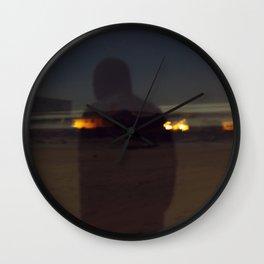 triple threat Wall Clock