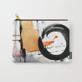 Enso Abstraction No.106J by Kathy Morton Stanion Carry-All Pouch
