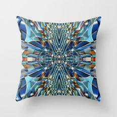 Abstract X Six Throw Pillow