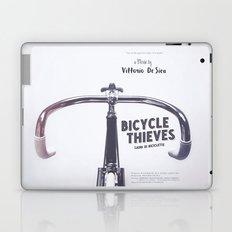 Bicycle Thieves - Movie Poster for De Sica's masterpiece. Neorealism film, fine art print. Laptop & iPad Skin
