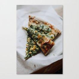 Pizza Delight Canvas Print