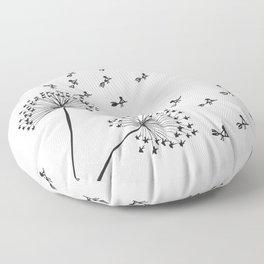 Make a wish Floor Pillow