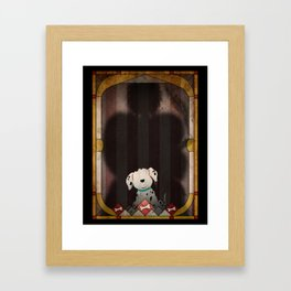 Shadow Collection, Series 1 - Bone Framed Art Print
