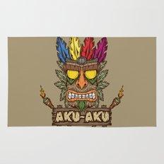 Aku-Aku (Crash Bandicoot) Rug