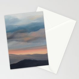 Sunset on the Blue Ridge Parkway Stationery Cards