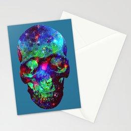 Star Skull  Stationery Cards