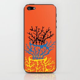 matisse coral iPhone Skin