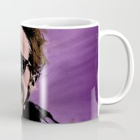 american psycho Mugs featuring American Psycho by sbs' things