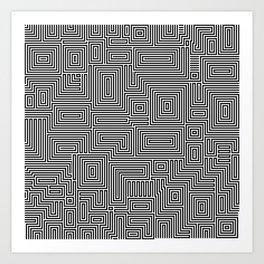 Eye Bind Art Print