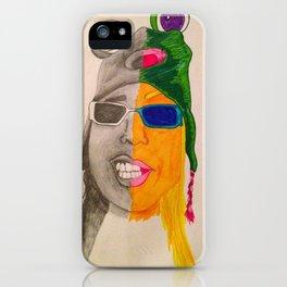 crazy frog iPhone Case