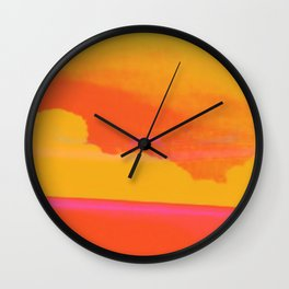 Signs in the Sky Collection - Rising Sun Wall Clock