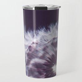 Violet Dandelion Travel Mug