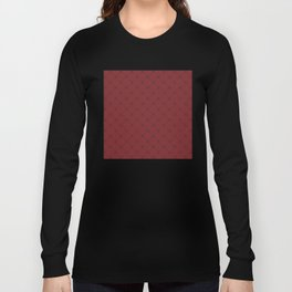 derived of square in red Long Sleeve T-shirt