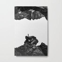 Isolate Me Metal Print