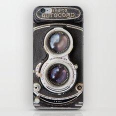 Vintage Autocord Camera iPhone & iPod Skin