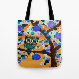 :: Sunset Gemmy Owl :: Tote Bag