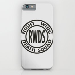 Right Wing Death Squad 3 iPhone Case