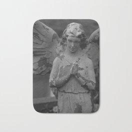 Cemetery Angel Statue Bath Mat
