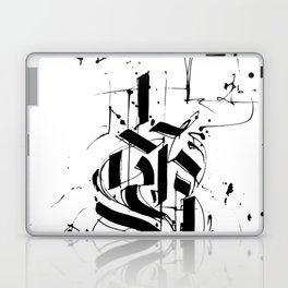 CALLIGRAPHY N°6 ZV Laptop & iPad Skin