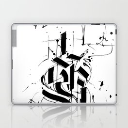 CALLIGRAPHY N°6 ZV Laptop & iPad Skin