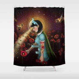Oblivion: Anthophila I Shower Curtain