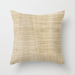 Spalted Maple Wood Throw Pillow