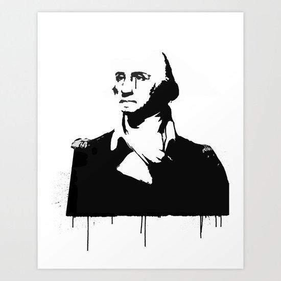 George Washingtear Art Print