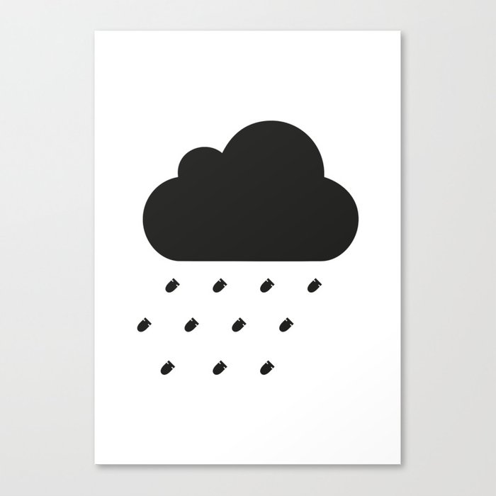 PAUSE – Bullet Storm Canvas Print