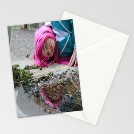 Laying Down Stationery Cards
