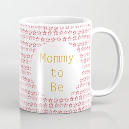 Mommy to be - watercolour pattern Coffee Mug