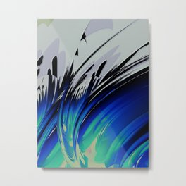 Abstract Composition 126 Metal Print