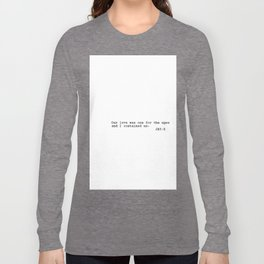 Jay-Z Rap Quote Long Sleeve T-shirt