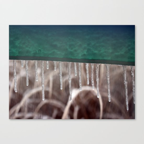 Icicle 4 Canvas Print