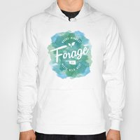 wes anderson Hoodies featuring Forage, OK by Laura Anderson by Elliot Matson