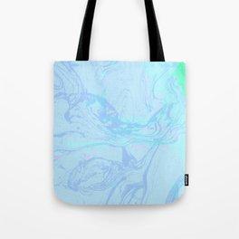 Marble Fuzz Tote Bag